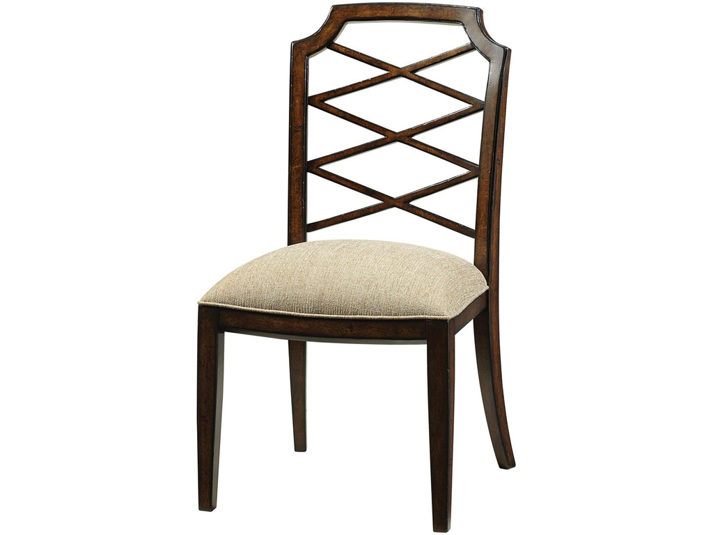 Fine furniture design dining room iconic dining side chair for Fine dining room furniture