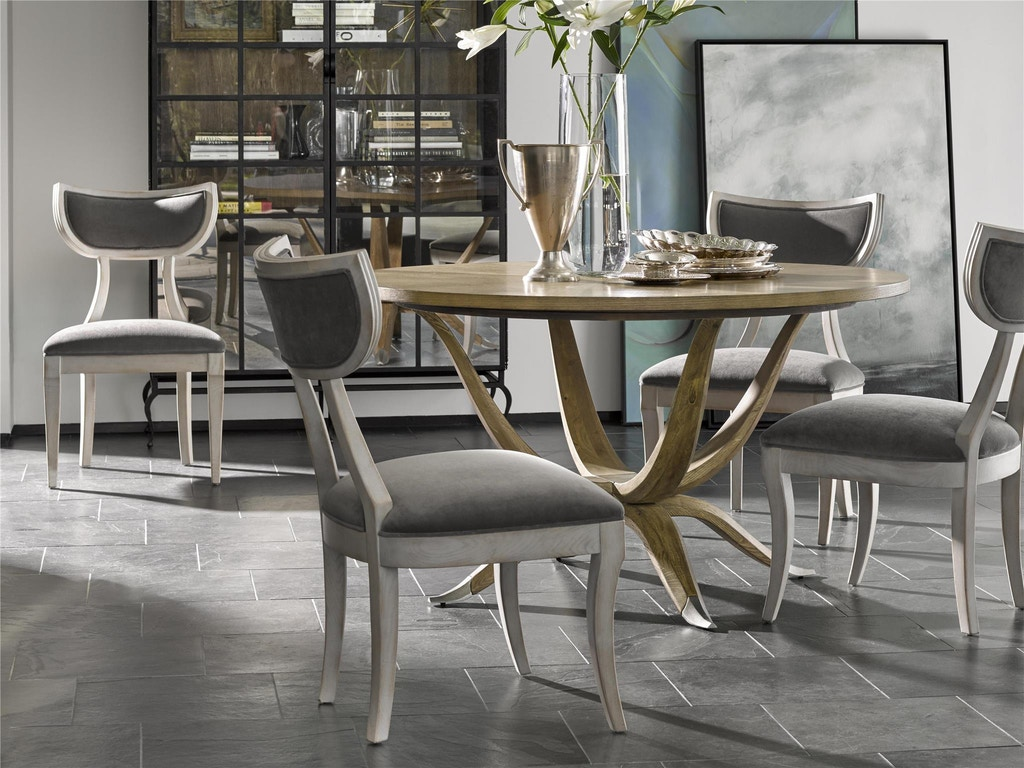 Fine furniture design dining room mila dining table 1583 for Fine dining room tables