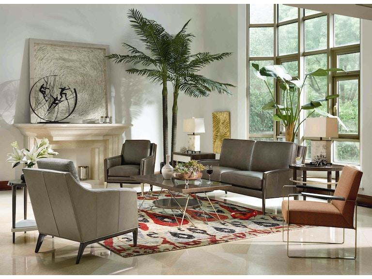 Fine Furniture Design Living Room Longchamp Leather Sofa 6823 01l Home Inspirations Thomasville Princeton Woodbridge And Rockaway Nj