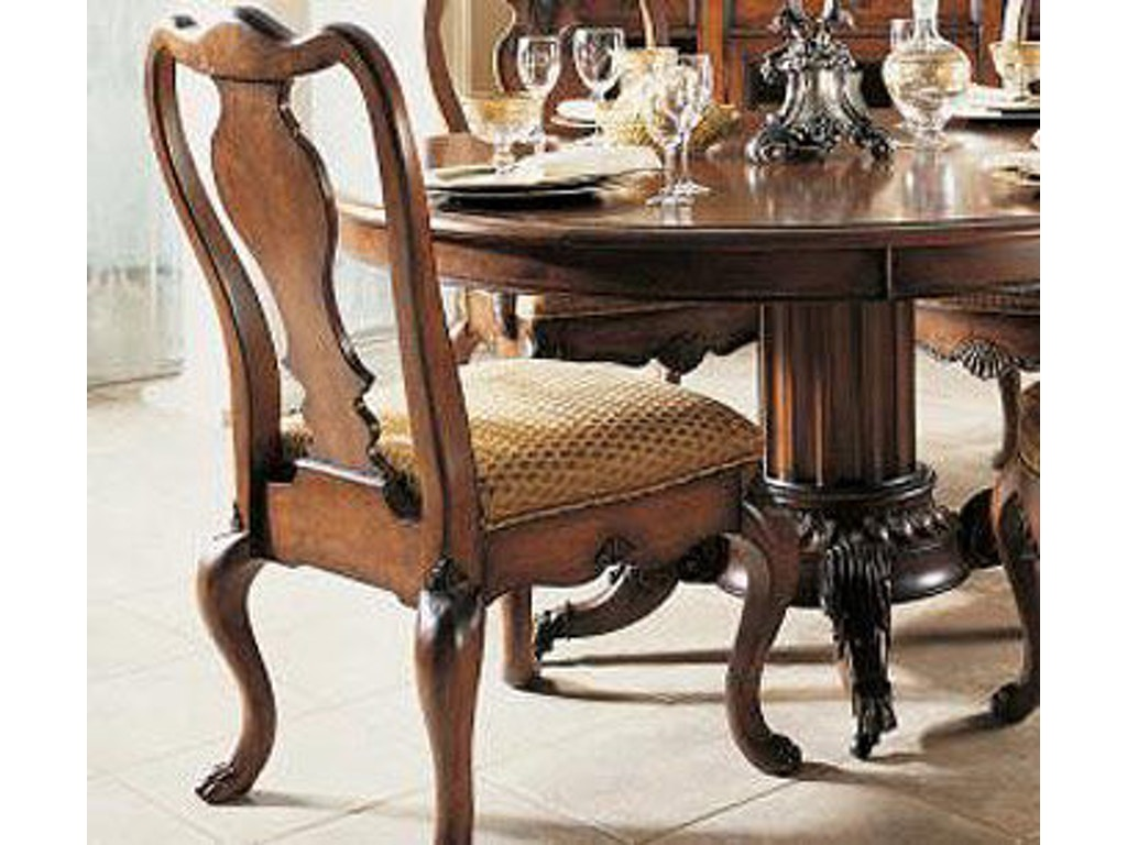Fine furniture design dining room hearts of wine slat back for Fine dining room furniture