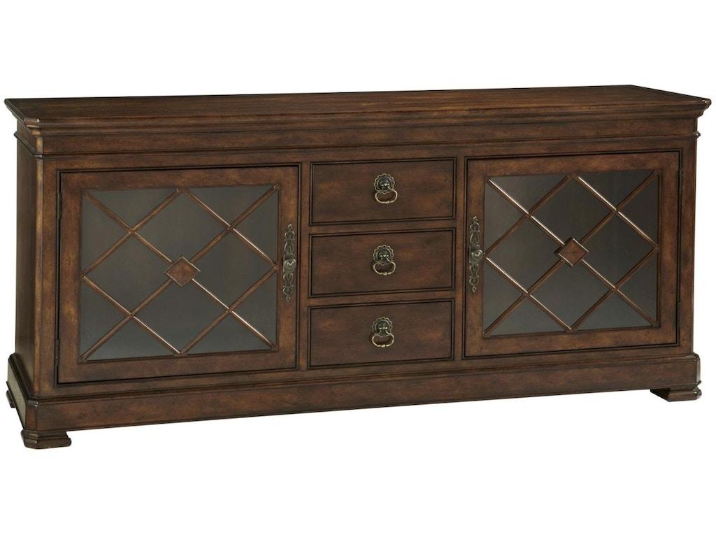 Fine Furniture Design Living Room Media Cabinet 1345 435 Fitzgerald Home Furnishings