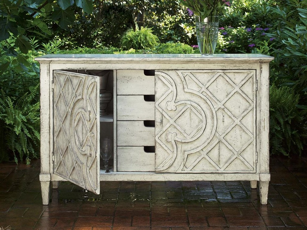 fine furniture design dining room jardin lattice console 1352 856 west coast living orange. Black Bedroom Furniture Sets. Home Design Ideas