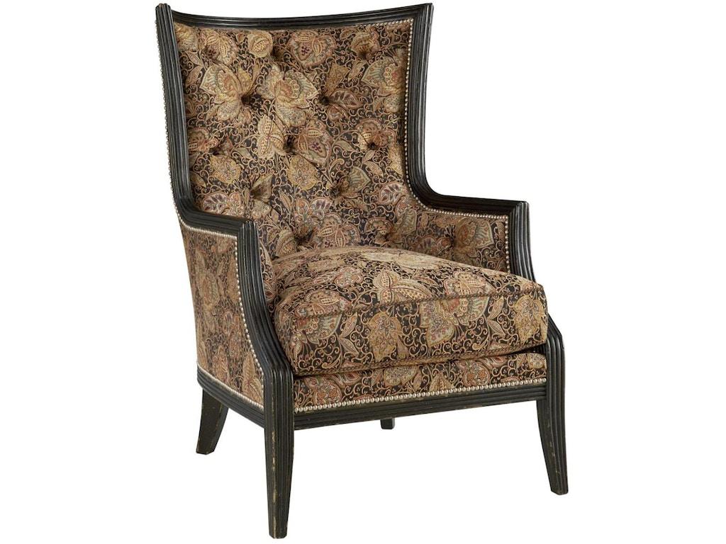 Fine Furniture Design Living Room Comtesse Wing Chair 3905 03 Georgia Furniture Savannah Ga