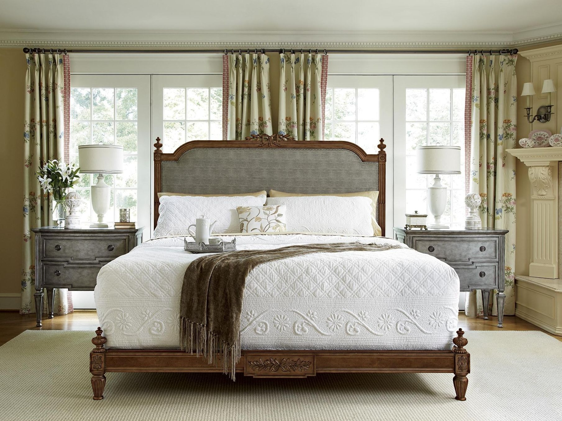 vanderbilt furniture. Fine Furniture Design Boulevard King Bed Vanderbilt 1340-467/468/469 A