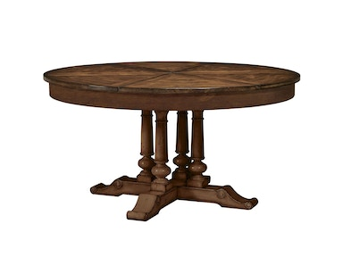 Fine Furniture Design Round Extending Dining Table 1370-810/811