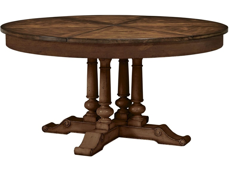 Fine Furniture Design Round Extending Dining Table 1370 810 811