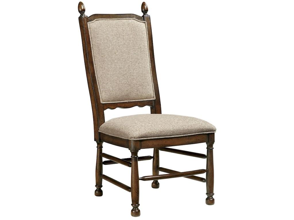 Fine furniture design dining room upholstered ladder back for Upholstered dining room side chairs