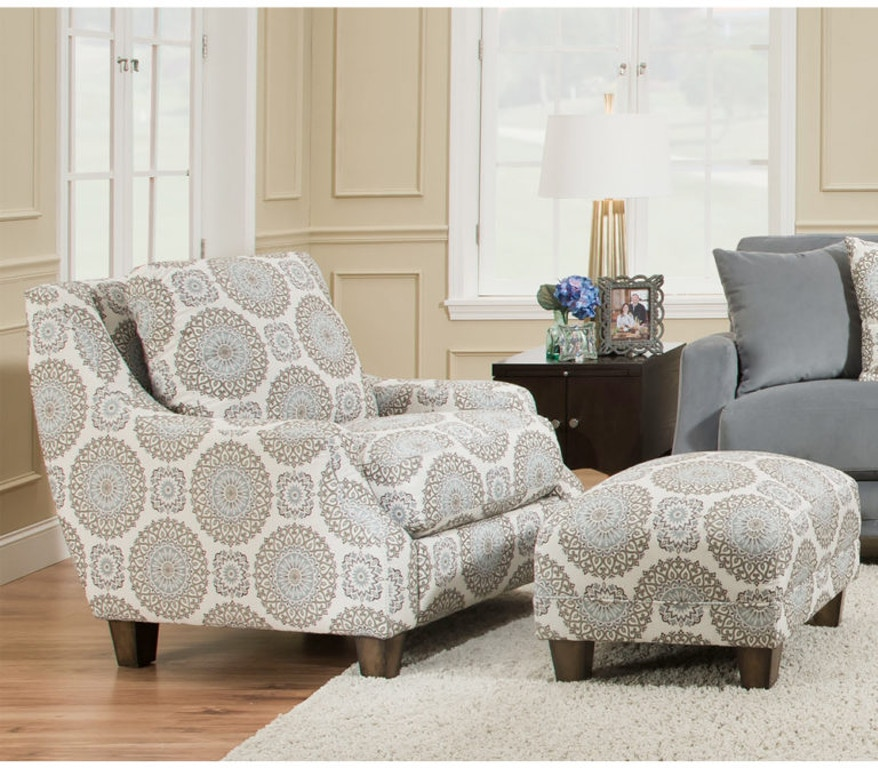 Franklin Living Room Matching Ottoman 2175 - Hennen Furniture - St ...