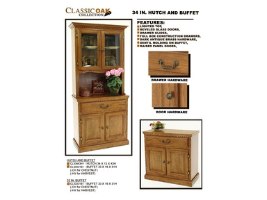 GS Furniture Buffet CL33331B1 - BUFFET