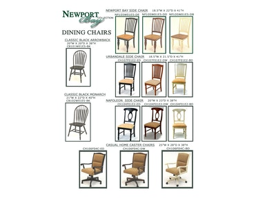 GS Furniture Newport Bay Side Chair NP105W01E5-DE
