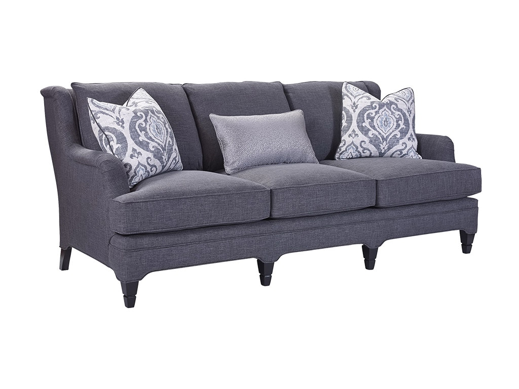 Drexel Heritage Living Room Noah Sofa D20173 S Priba Furniture And Interiors Greensboro