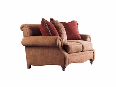 Drexel Heritage Living Room Kerry Two Cushion Loveseat