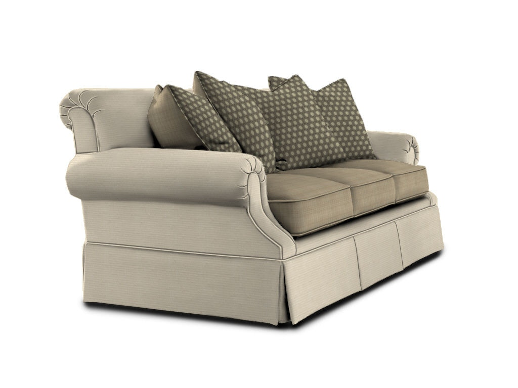 Drexel Heritage Living Room Kerry Three Cushion Sofa Sleeper D67-SS - Ennis Fine Furniture ...