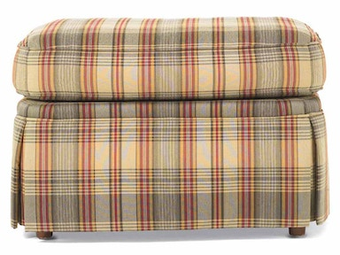 Drexel Heritage Living Room Chase Ottoman