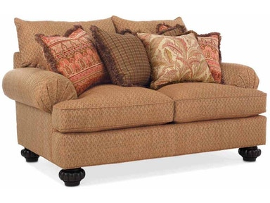 Drexel Heritage James Two Cushion Loveseat D84-LS