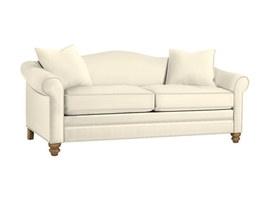 Drexel Heritage Living Room Kara Two Cushion Sofa