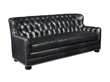 Drexel Heritage Living Room Paxton Leather Sofa