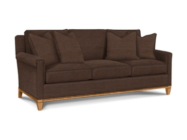 Drexel Heritage Living Room Langdon Sofa - Leather