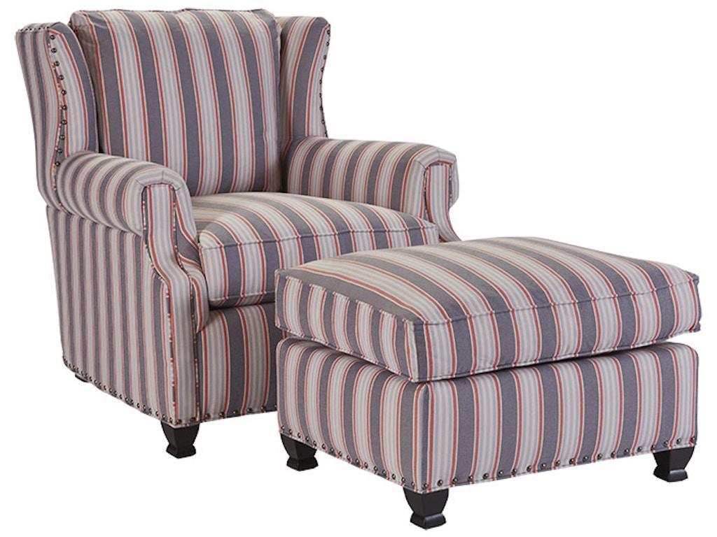 Drexel Living Room Claudette Ottoman L20184 Ot Drexel