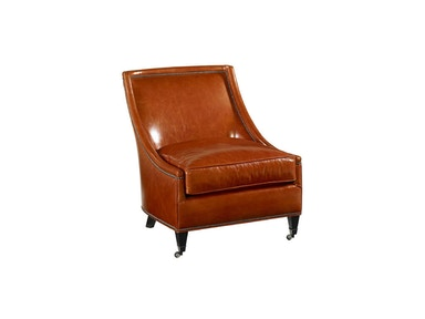 Drexel Heritage Living Room Merris Leather Arm Chair
