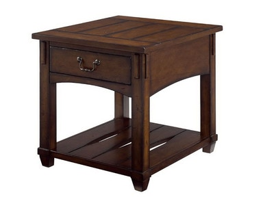 Hammary Rectangular Drawer End Table -Kd 049-915