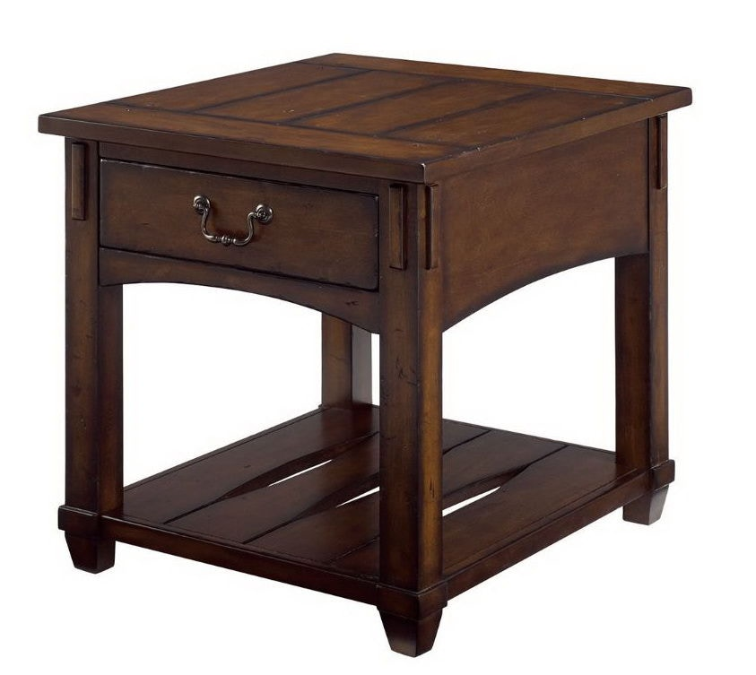 Hammary Rectangular Drawer End Table 049 915