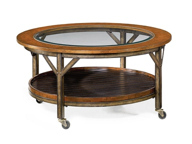 Hammary Merchantile Round Cocktail Table 518002