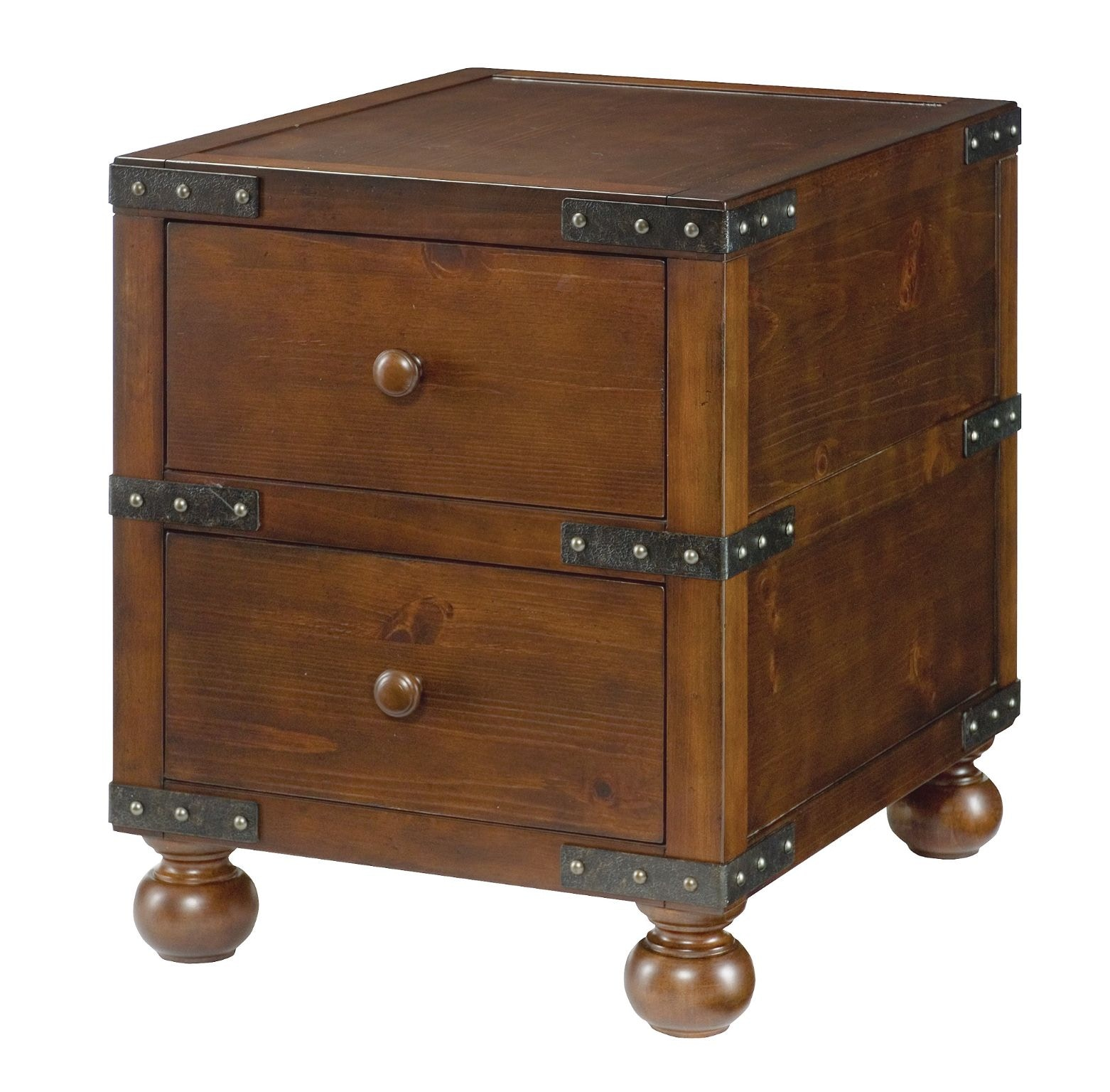 Hammary Living Room Trunk End Table