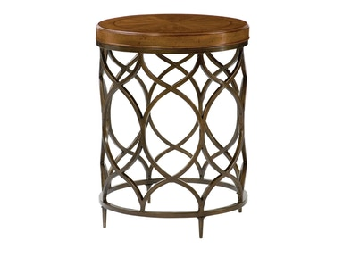 Hammary Round Lamp Table 090-571