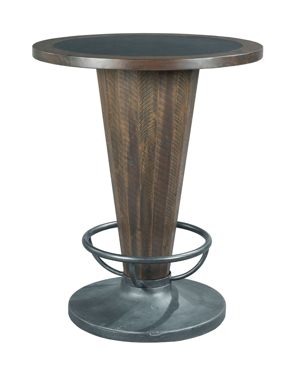 Attractive Hammary Cone Shaped Pub Table 090 877R