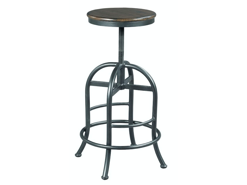 Hammary Bar and Game Room Adjustable Height Pub Stool 090-878 - Matter ...