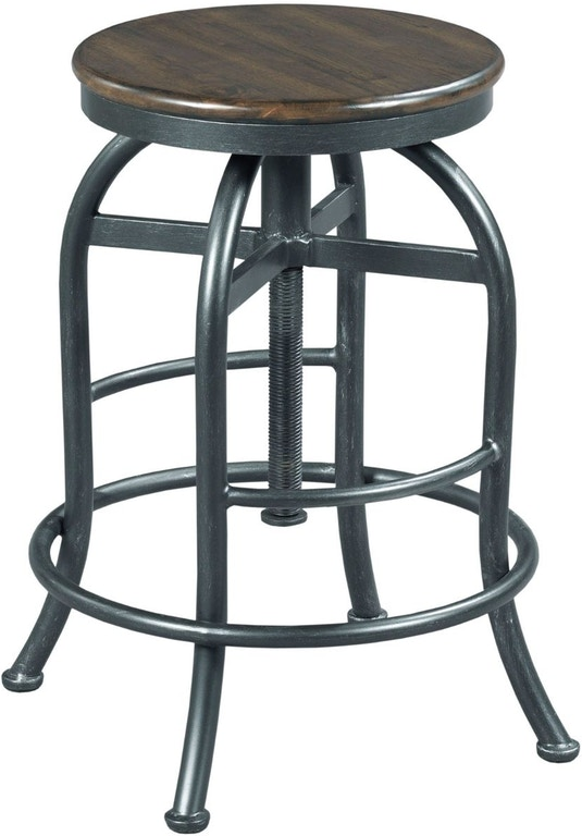 Hammary Bar And Game Room Adjustable Height Pub Stool - Adjustable height cafe table