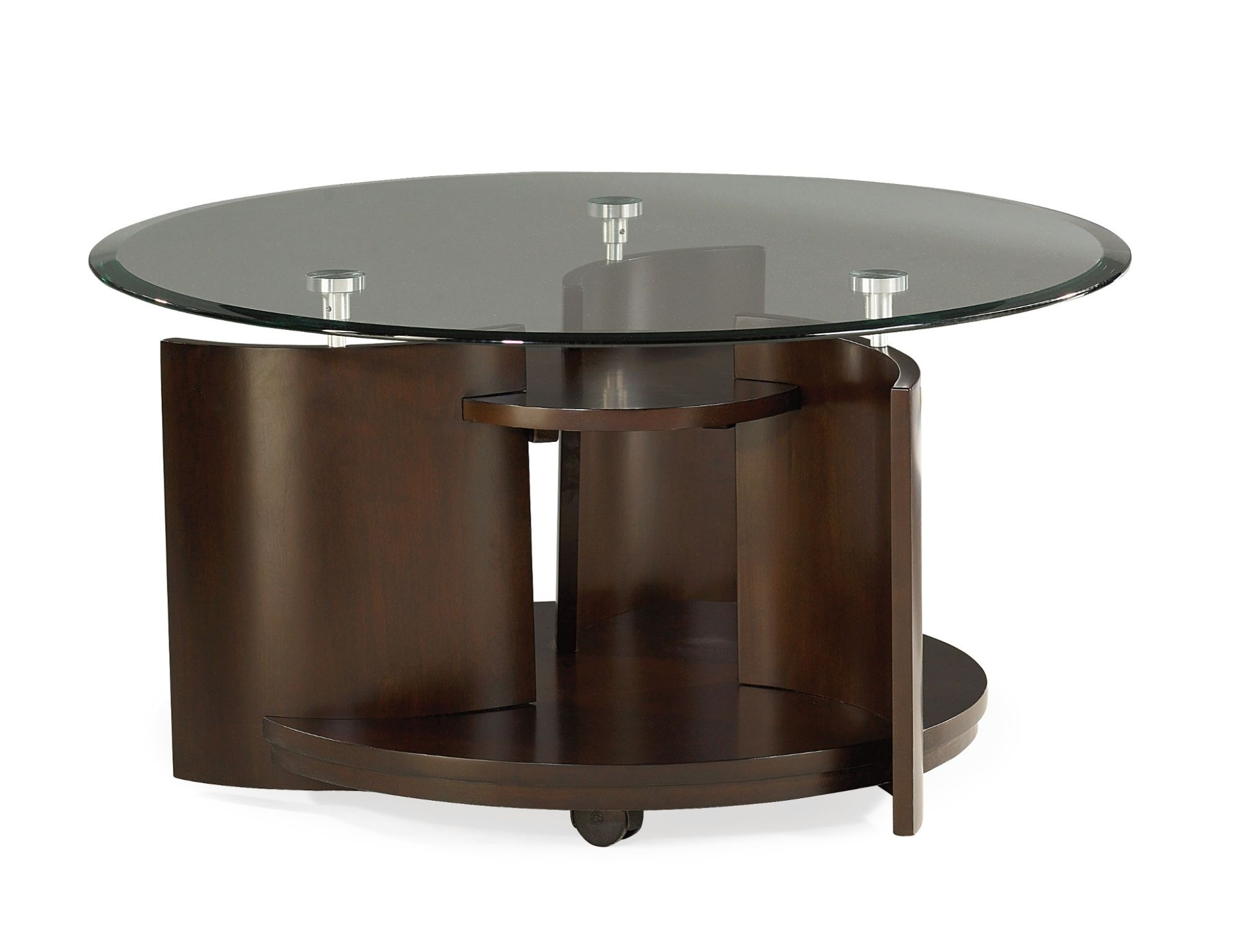 Hammary Living Room Round Cocktail Table - Kd 105-911 - Great Deals on ...