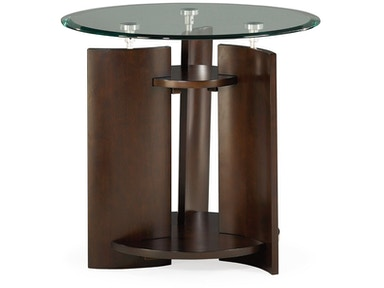 Hammary Round End Table - Kd 105-916