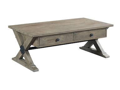 Hammary Reclamation 2 Drawer Cocktail Table 532031