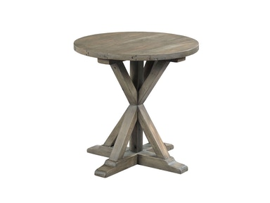 Hammary Reclamation Round End Table 532032
