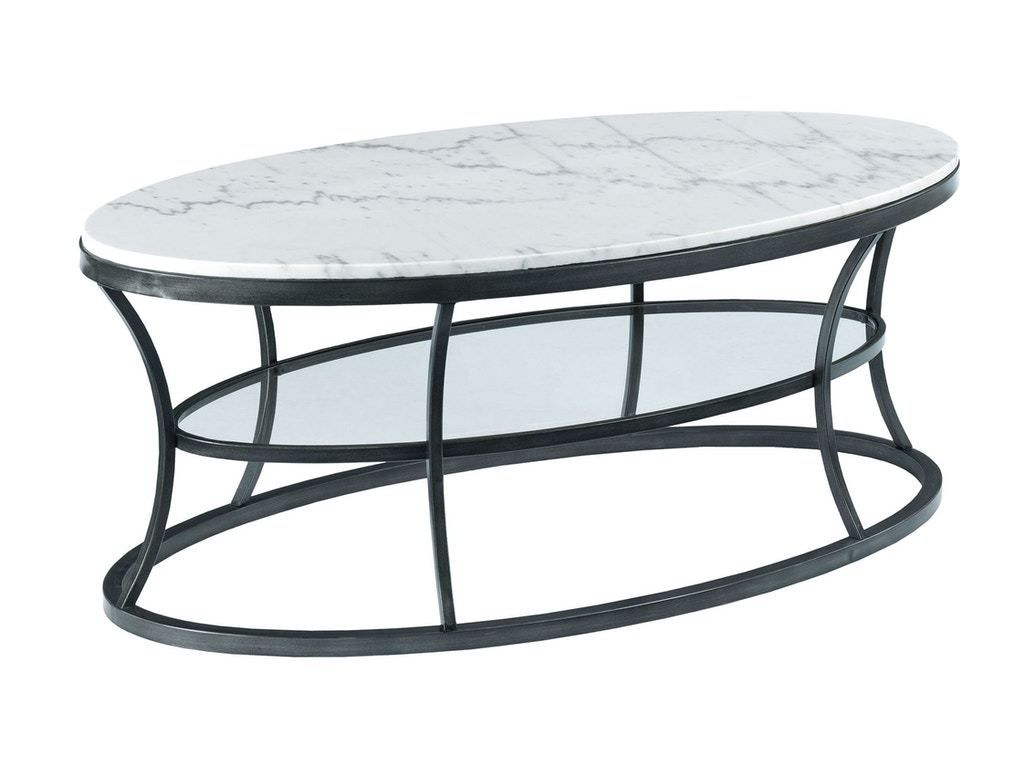 Hammary Living Room Oval Cocktail Table 576 912 Habegger Furniture Inc Berne And Fort Wayne In
