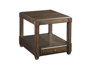 Hammary Rectangular Drawer End Table 620-915