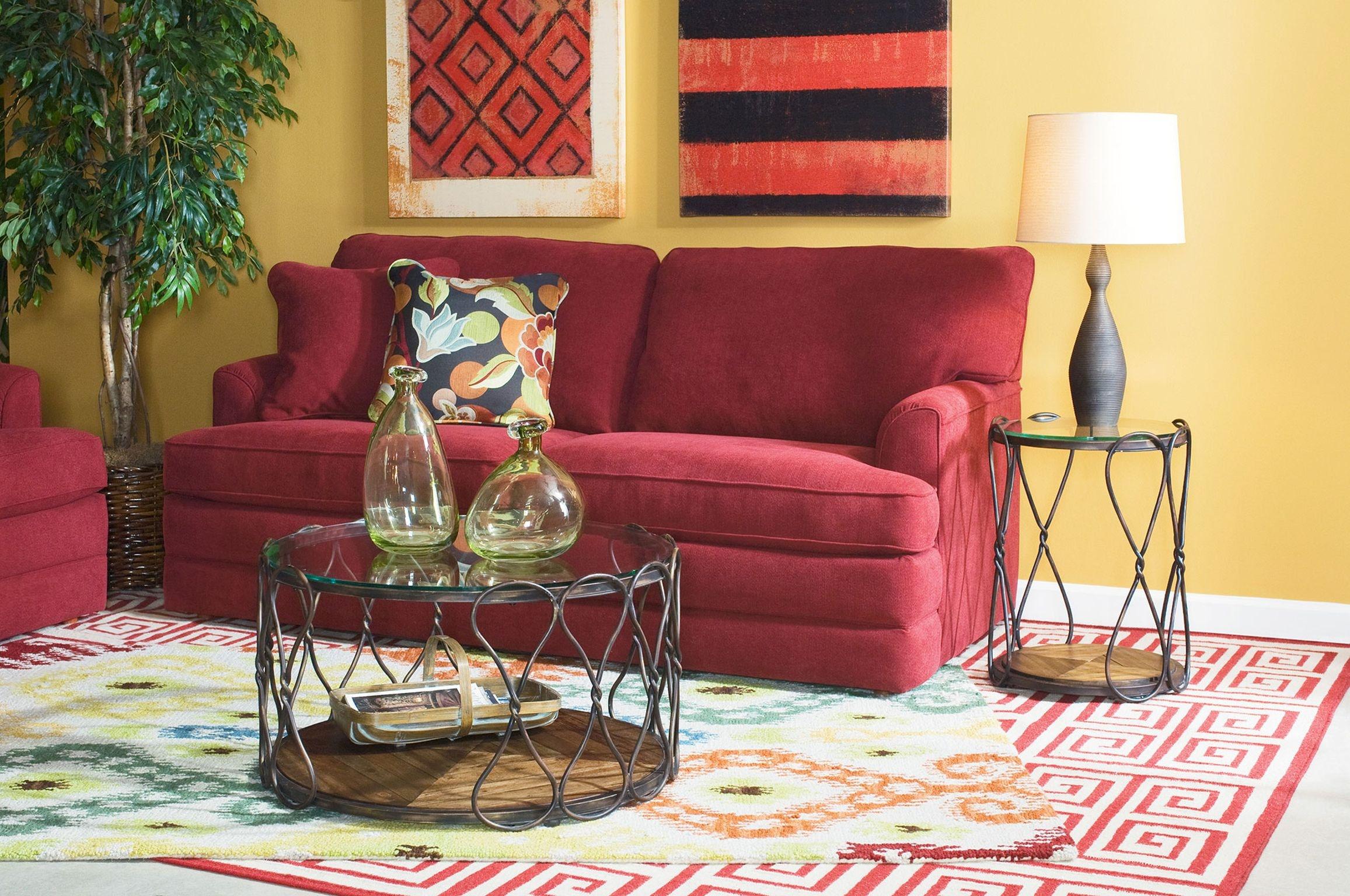 Living Room Furniture Atlanta Ga Hammary Round End Table 090 714 Ramsey