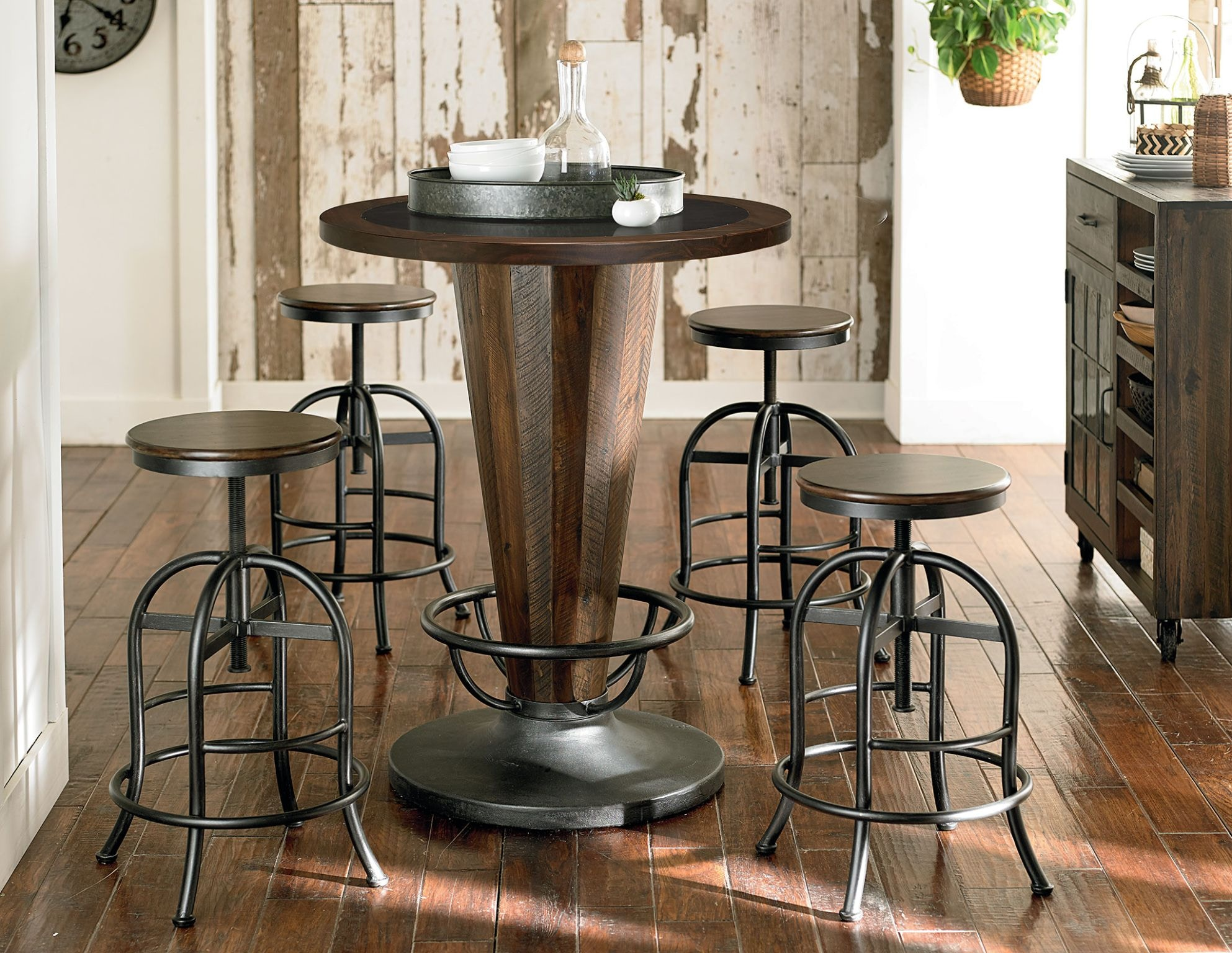 Hammary bar and game room adjustable height pub stool 090 for Td furniture pearl ms