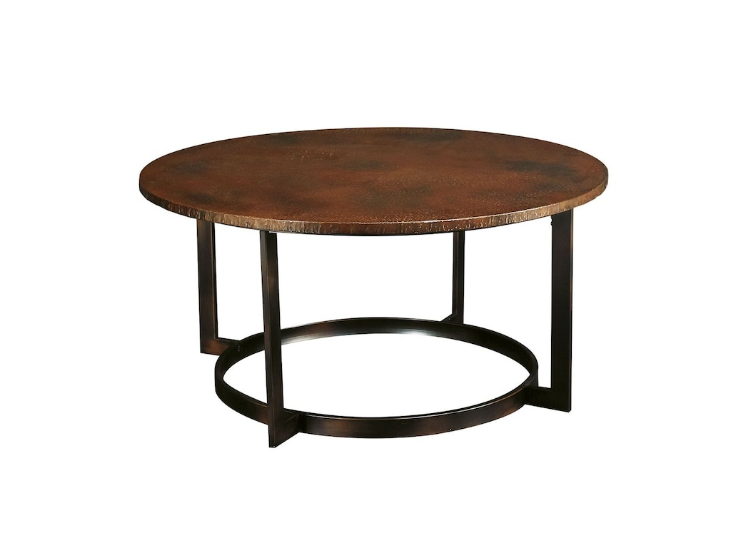Hammary living room round cocktail table kd t20630 for Living room cocktail tables