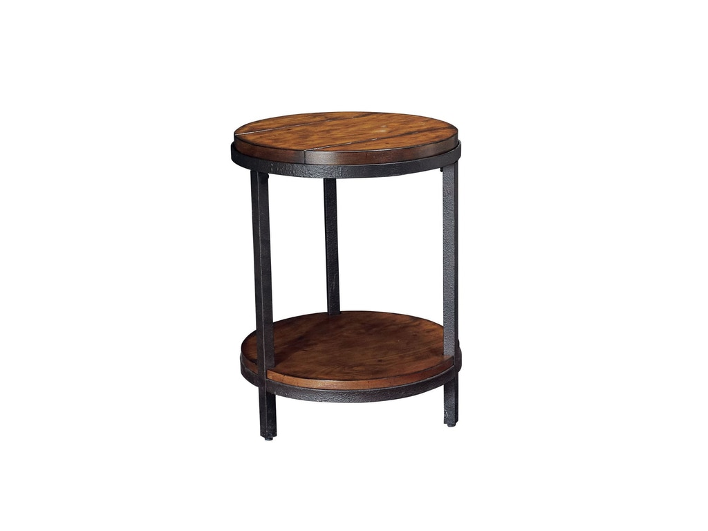 Hammary Living Room Round End Table Kd T20750 T2075235 00 Signature Furniture Lexington Ky