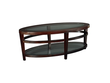 Hammary Oval Cocktail Table-Kd T20810-T2081506-00