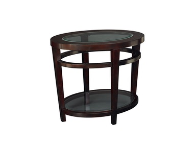 Hammary Oval End Table-Kd T20810-T2081536-00