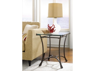 Hammary Living Room Rectangular End Table Base Kd T30026