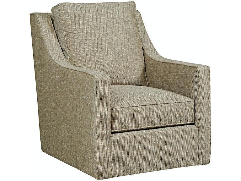 Kincaid Furniture Living Room Bradley Swivel Glider Chair 010-02 ...