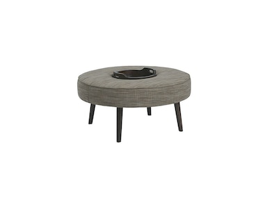 Kincaid Furniture Elliot Round Cocktail Ottoman 052-03