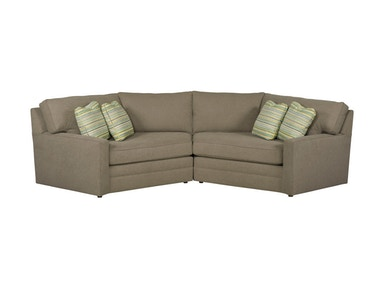 Kincaid Furniture LAF Cuddler 177-Sectional