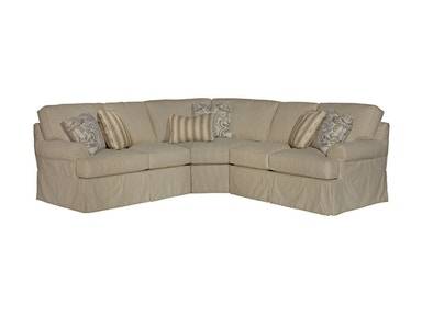 Kincaid Furniture Samantha Sectional 648-Sect