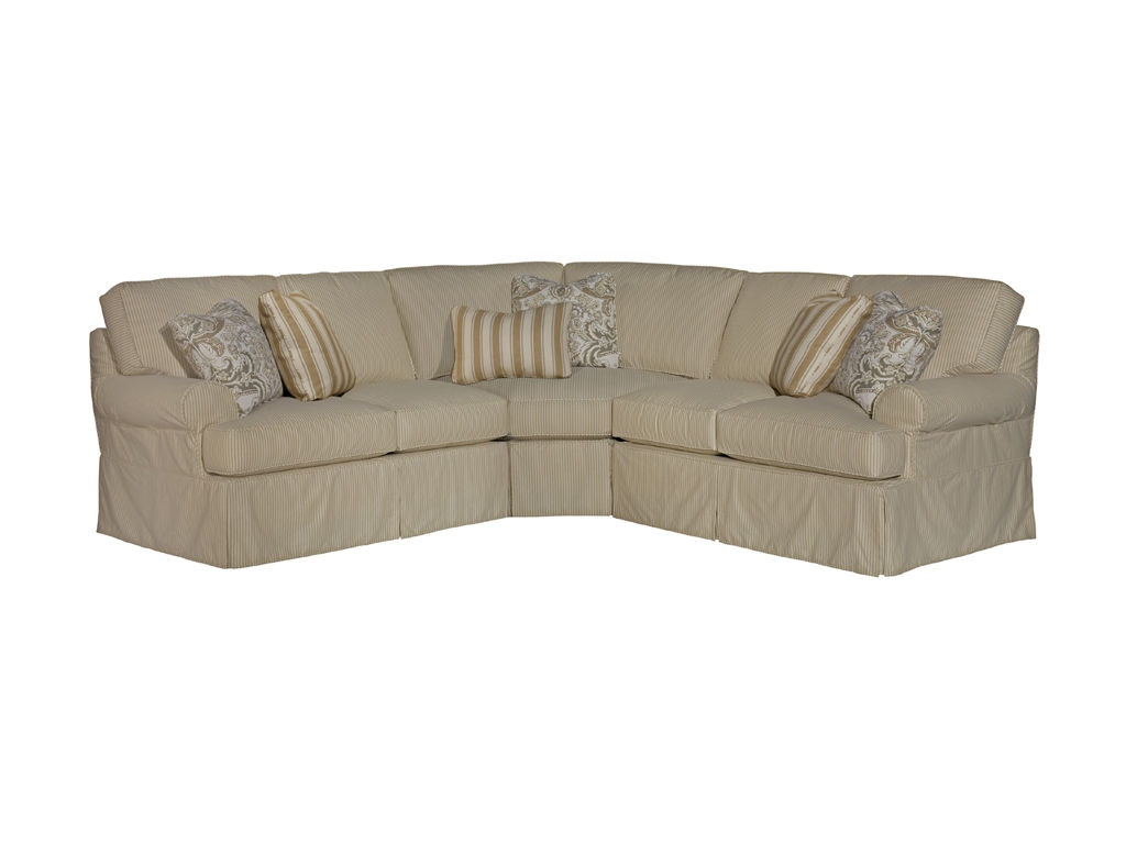 Kincaid Furniture Living Room Samantha Sectional 648 Sect At New Ulm  Furniture Co.
